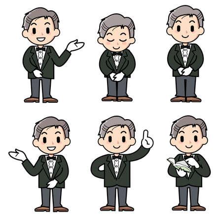 コンシェルジュ - 男 - セット
