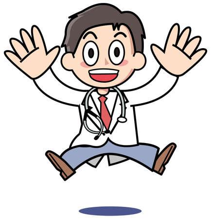 医者たちは驚いています。 写真素材 - 15300763