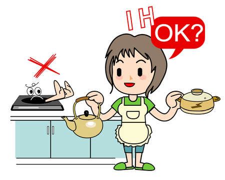do cooking: Housework of the mom - IH Cooking