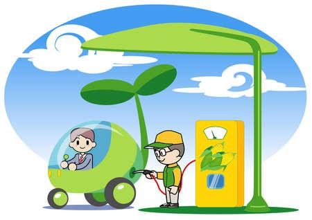 Bioethanol Stock Photo