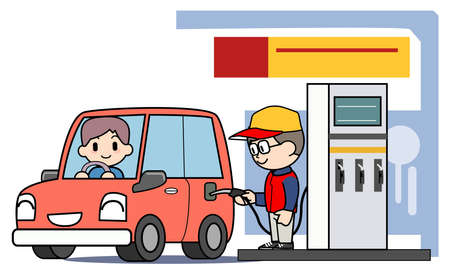 refueling: Service station - Refueling
