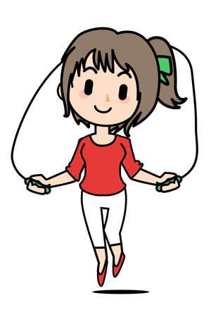ダイエット - 縄跳び