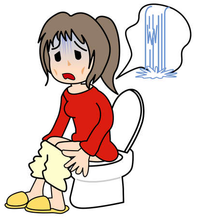 diarrhea illustration: Diarrhea Stock Photo