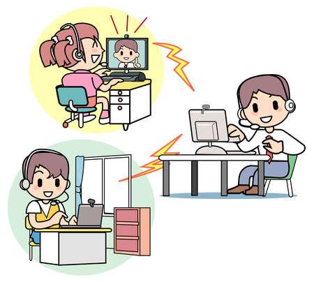 cram: Cram school - Internet class