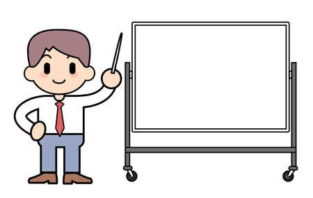 cram: Cram school - Blackboard Stock Photo