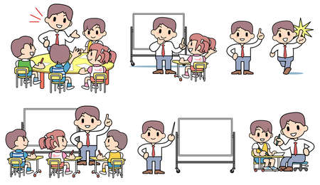 학교를 벼락 공부 - 설정