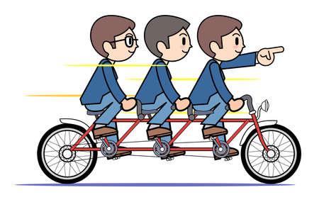tandem: Tandem bicycle - company