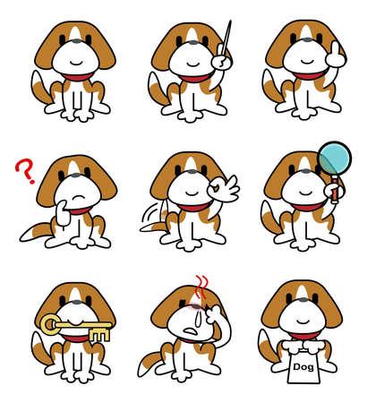 plural number: Dog-set