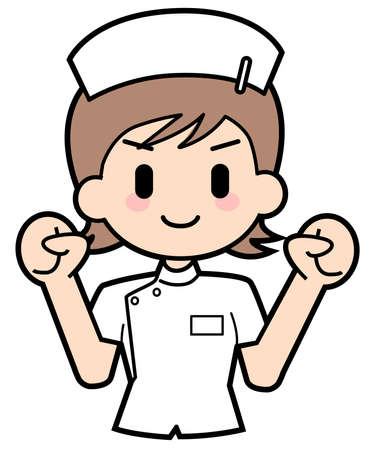 Nurse-Do its best Stock Photo - 15312617