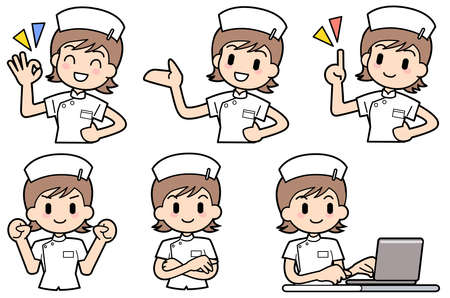 folding arms: Nurse-Set