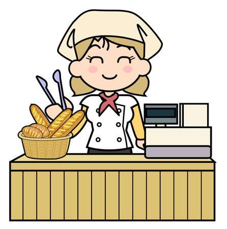deformation: Bakery-Cash register