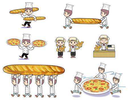 deformation: Bakery-set