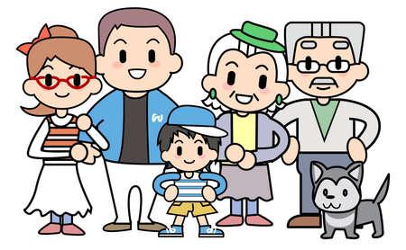 Big family Stock Photo - 15344373