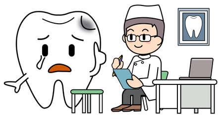 Dentist medical treatment image Stock Photo - 15344505