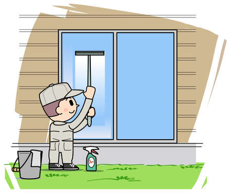 window cleaning: Window cleaning