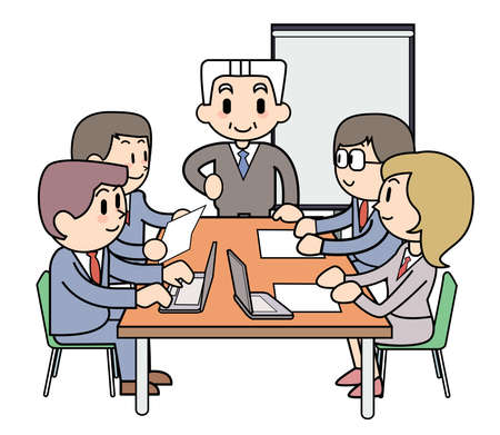 Simple Meeting Stock Photo - 15344753