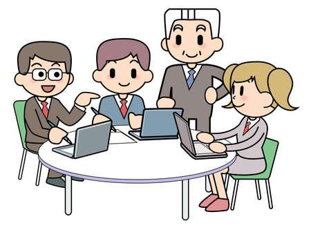 Simple Meeting Stock Photo - 15344752