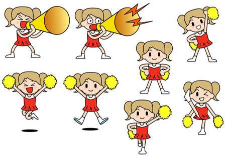 Cheer leader-Set