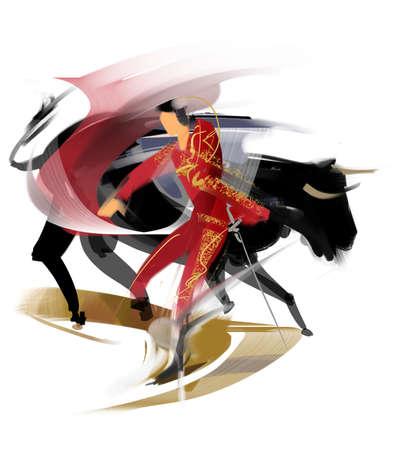 sword act: Bullfighting
