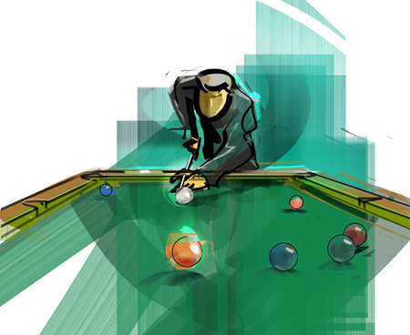 billiards hall: Hustler