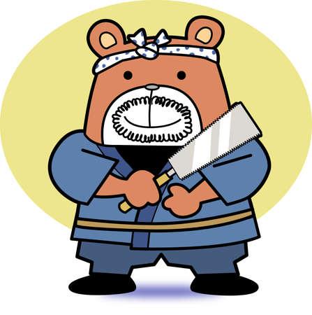 クマの大工