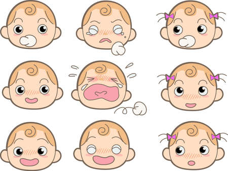 angry baby: Baby - Expression
