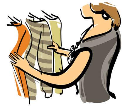 服を選択します。 写真素材 - 15877510