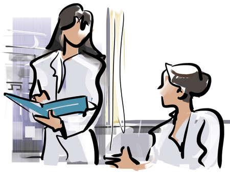 consulta médica: Médico - consulta