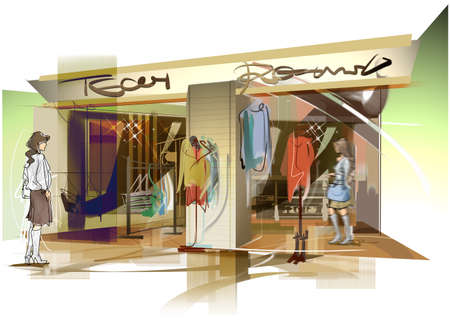 The store - appearance