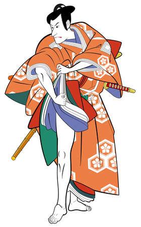 definite: Kabuki actor