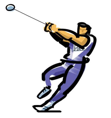 lancer marteau: Lancer du marteau