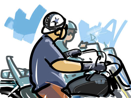 harley: Motorcycle touring