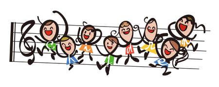 sings: Children - music