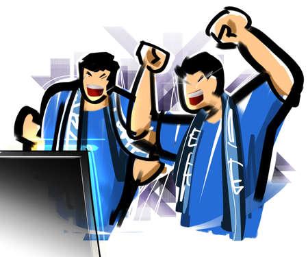 enthusiasm: TV watching games
