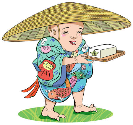sedge: Tofu-Kozou-color Stock Photo