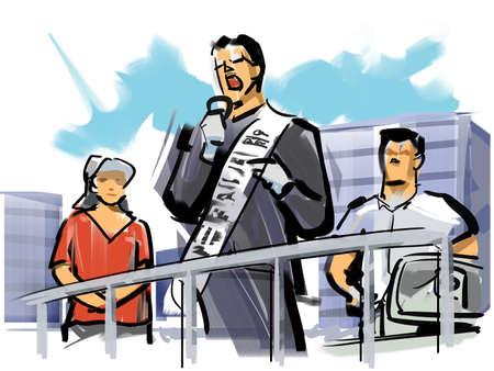 councilor: Street speech