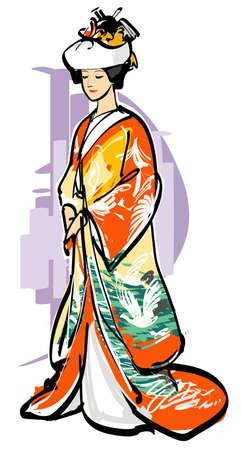 chignon: The takashimada coiffure