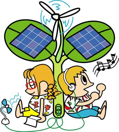 peacefully: Ecology