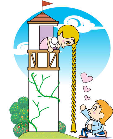 Rapunzel Stock Vector - 17529114
