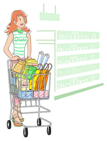 Shopping Stock Vector - 17313183