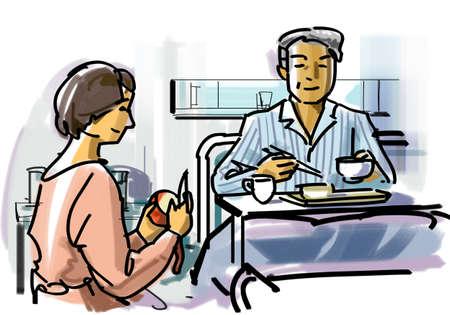 health care fight: Sickroom