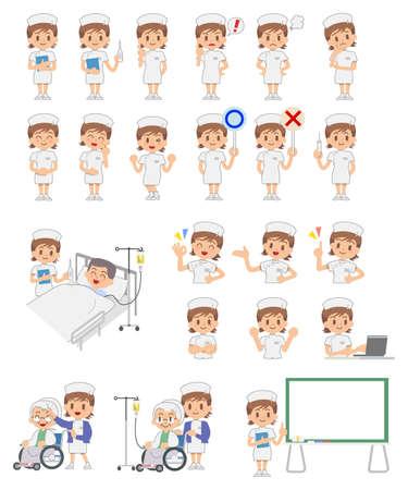 간호사 - 세트