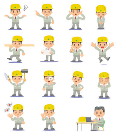 The construction spot - set Stock Vector - 17447612