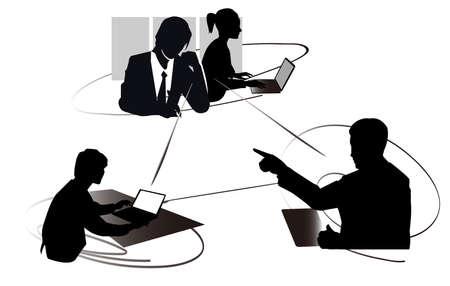 ビジネス イメージ シーン 写真素材