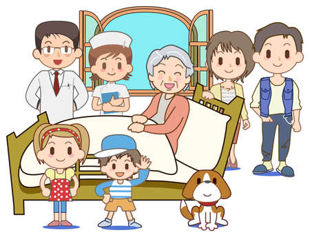 Home medical care - Bed Stock Photo - 17709810