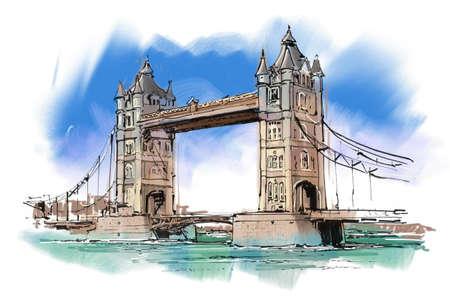 ロンドン タワー ブリッジ