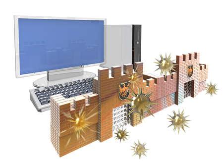 Firewall Stock Photo - 21768370