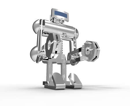 technically: Robot Stock Photo