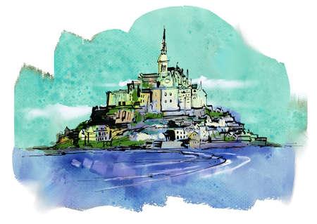 mont saint michel: Mont-Saint-Michel