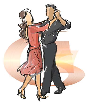 Dance - Blues Stock Photo - 56817712